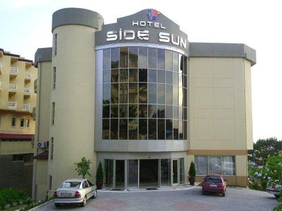 Hotel Side Sun Haupteingang Hotel Side Sun