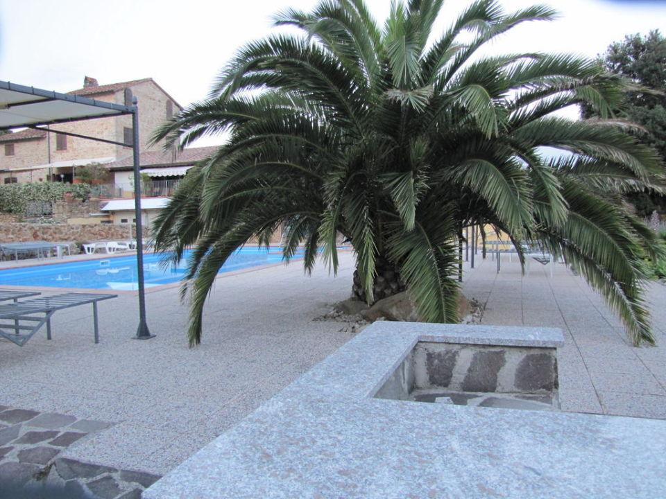 Geheizter Pool L'Ostello di Rigalloro