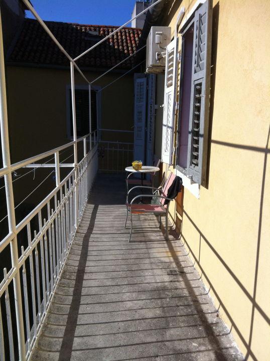 Balkon zum Rauchen Hostel Sunseekers