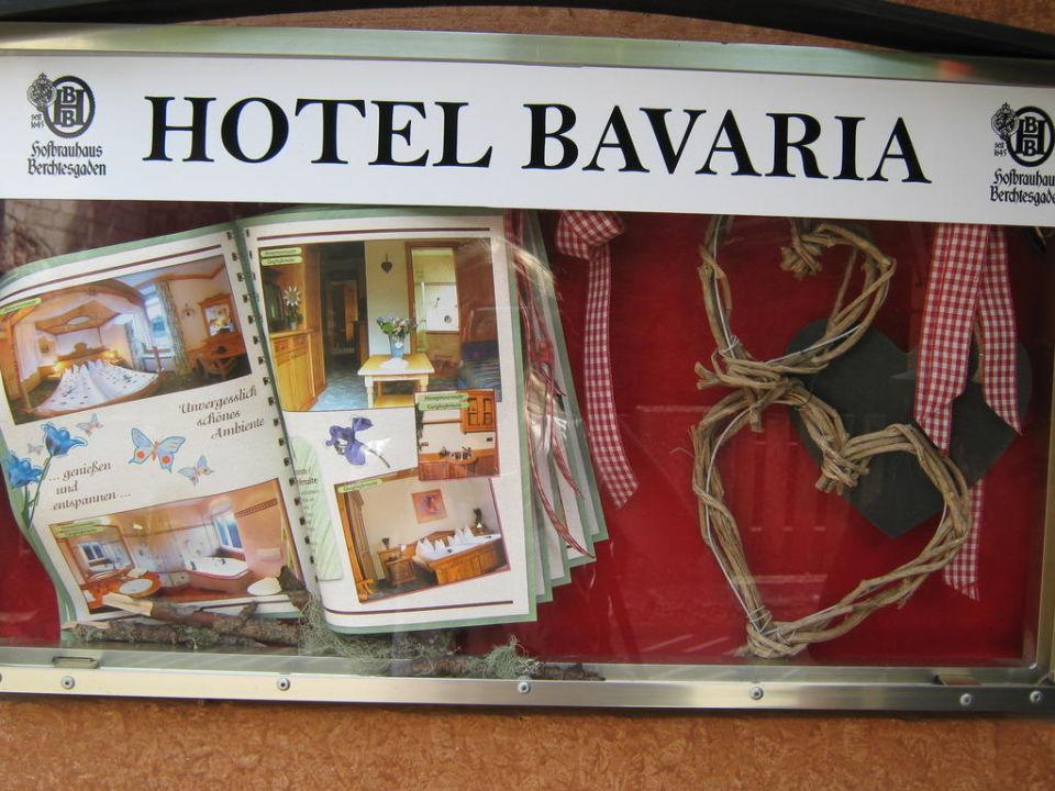 Eingang Hotel Bavaria Berchtesgaden