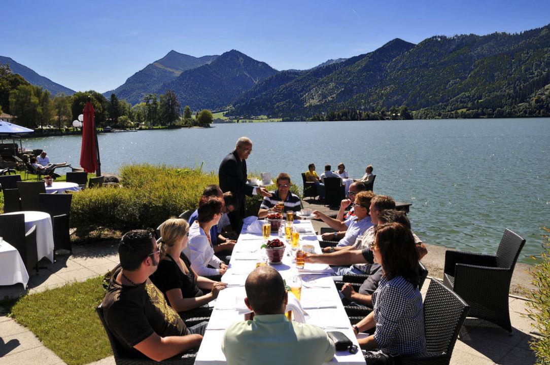 Feiern - direkt am See Seehotel Schlierseer Hof
