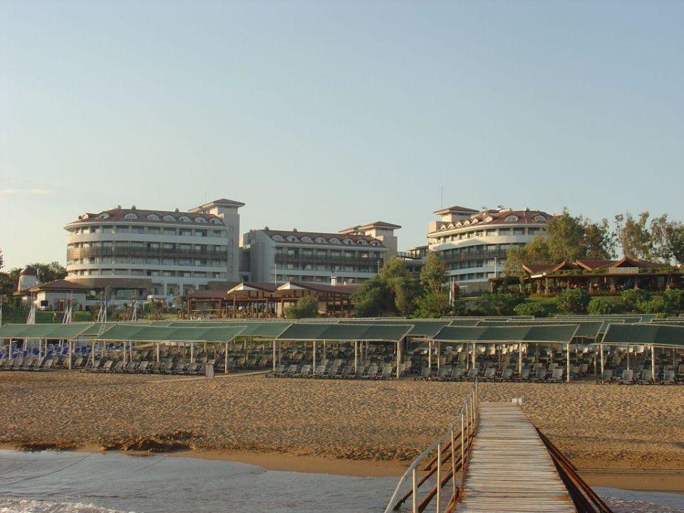 Blick vom Strand Alba Royal Hotel