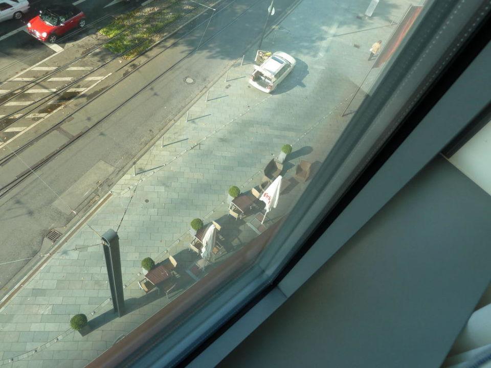 Ausblick vom 4. Stock Ameron Hotel Regent