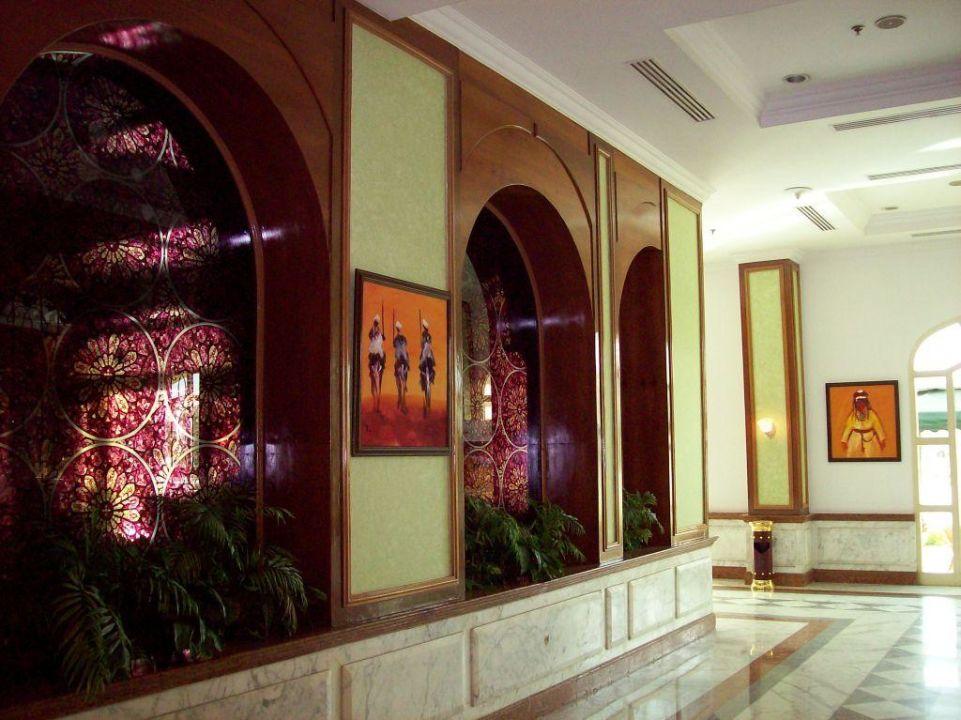 Richtung Restaurant Mövenpick Hotel Cairo Media City