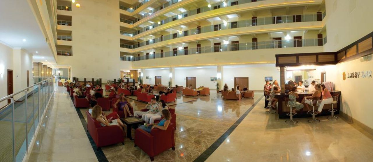 Lobby Hotel Laphetos Beach Resort