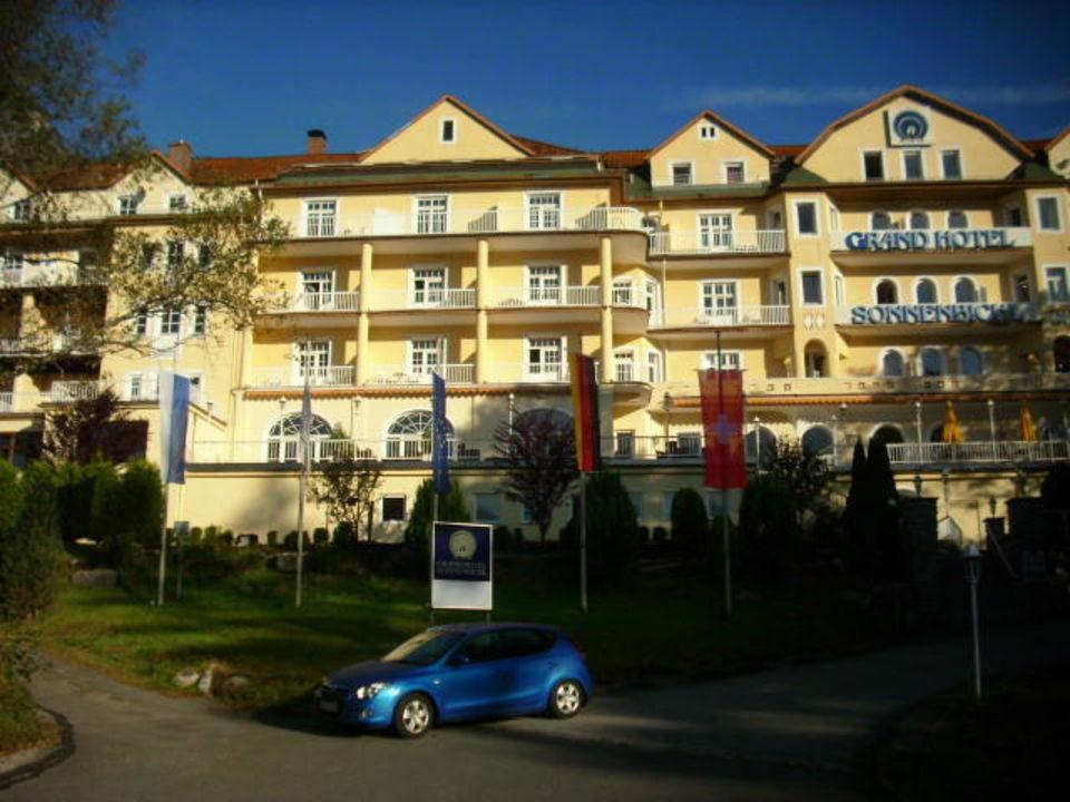 Einladende Front Grand Hotel Sonnenbichl