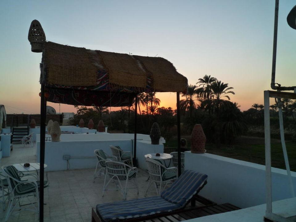 Sonnenuntergang Hotel Gezira Garden