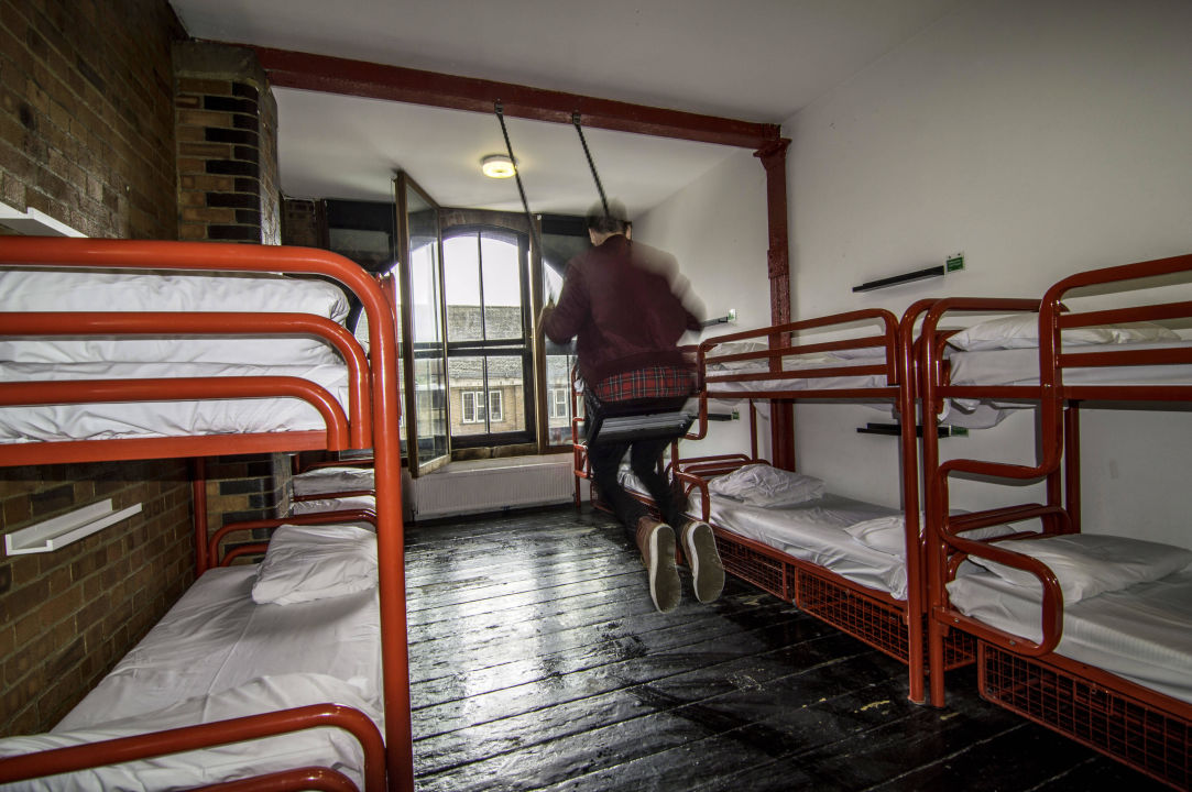 10 Bed En Suite Dorm With Swing The Dictionary Hostel Shoreditch