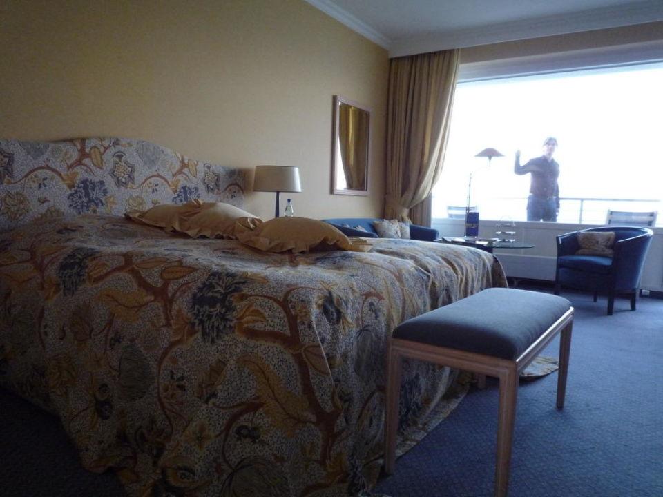 Schlafzimmer Suite Grand Hotel Seeschlösschen SPA & Golf Resort