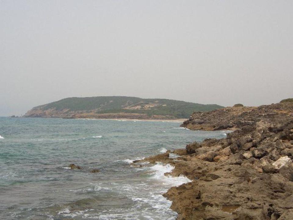 Immer wieder neue Buchten zu sehen bei einem kleinen Strands Hotel Club Valtur Tabarka