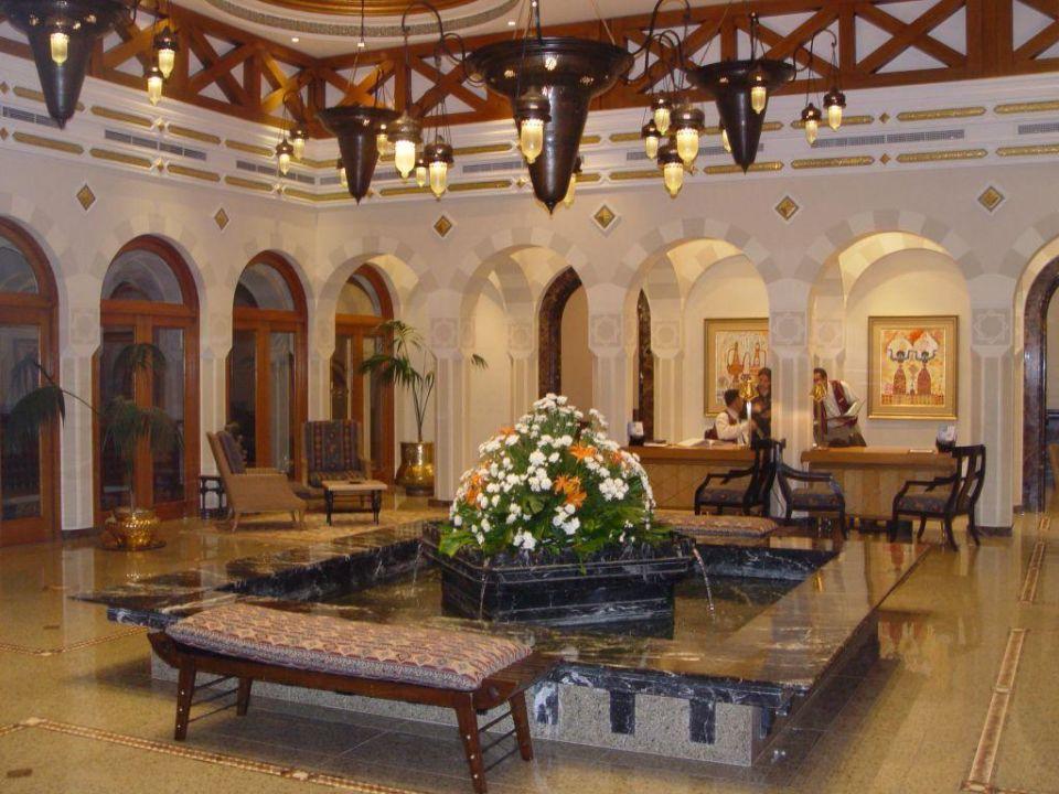 Hotelhalle The Oberoi Sahl Hasheesh