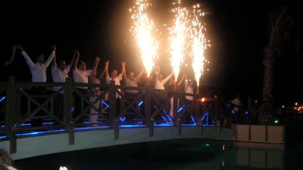 Abendshow Mholiday Hotels Belek