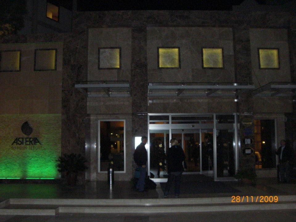Hotel Vorderansicht Arcanus Side Resort