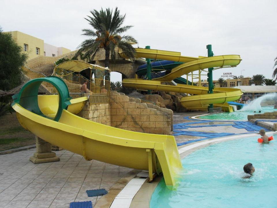 Toboggan pour enfants Hotel Houda Golf & Beach Club