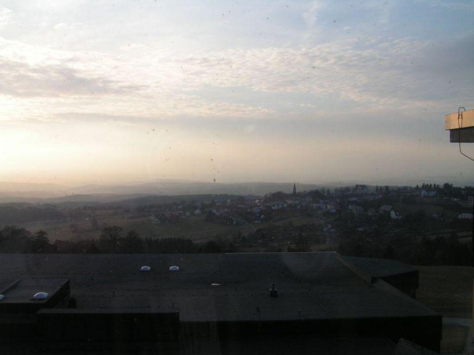 Ausblick vom Zimmer IFA Schöneck Hotel & Ferienpark