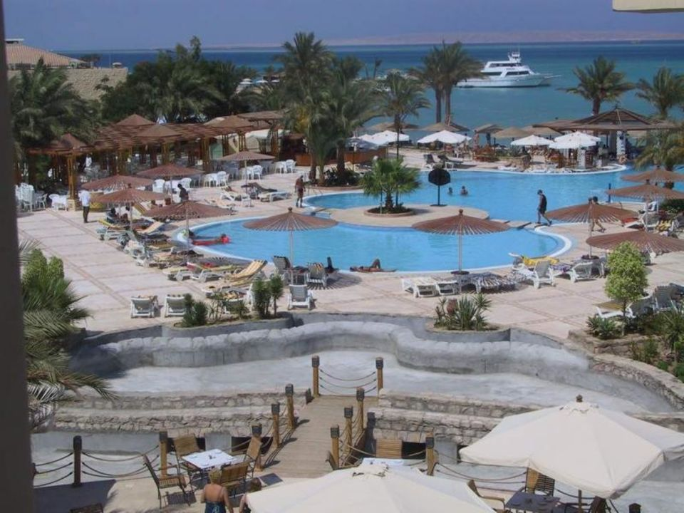 Ägypten Grand Plaza Poolbild  Grand Plaza Hotel