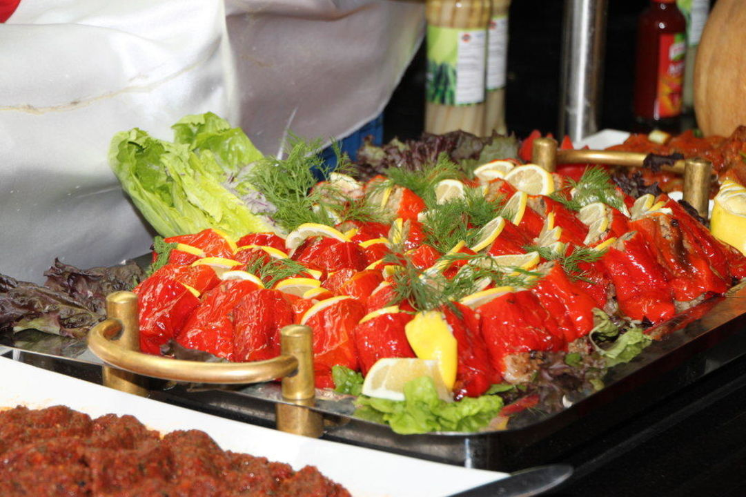 Das Gemüse ist so toll! Hotel Sultan of Side