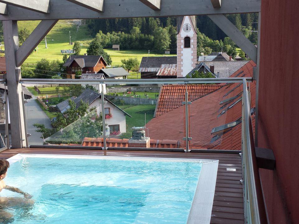 Whirlpool auf der dachterrasse hotel appartment - Whirlpool dachterrasse ...
