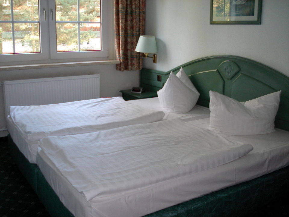 bild sehr gute matratzen in den betten zu seetelhotel familienhotel waldhof in trassenheide. Black Bedroom Furniture Sets. Home Design Ideas
