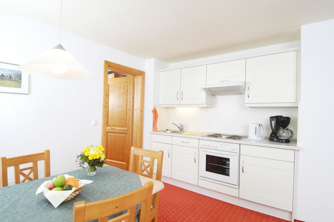 Komplett ausgestattete Küche der Kat. C Oberstdorfer Ferienwelt