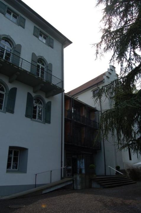 Eingangsbereich Schloss-Hotel Wartensee