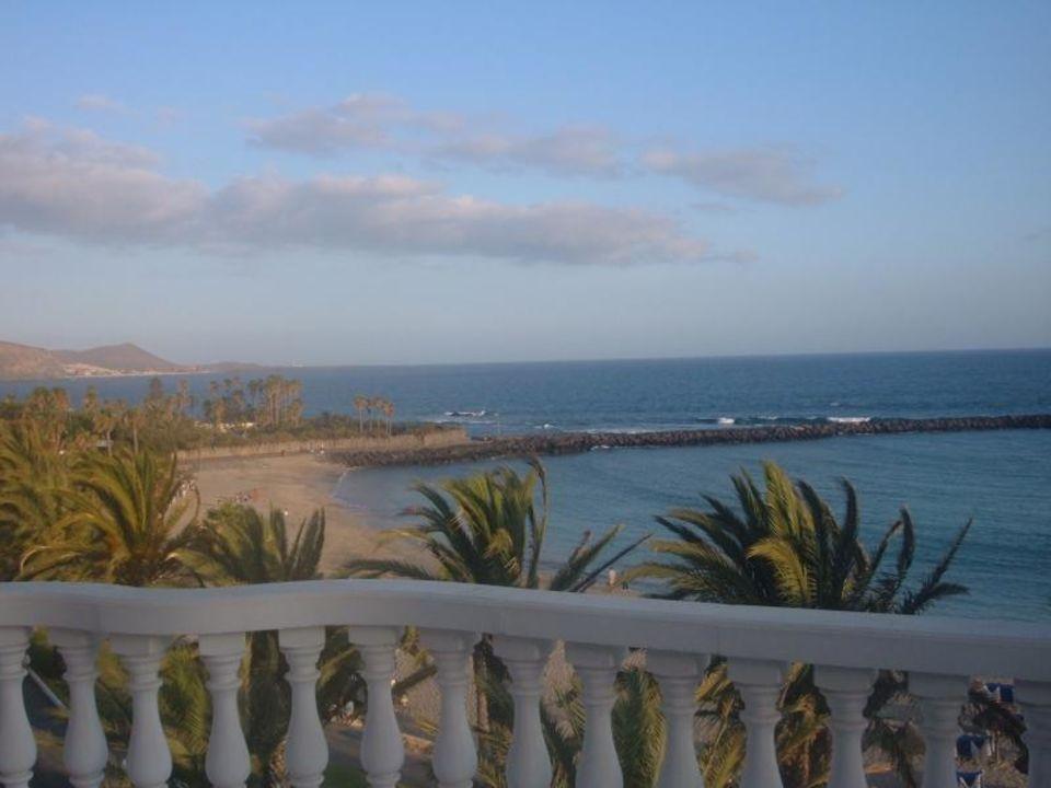 Aussicht vom Balkon Hotel Cleopatra Palace