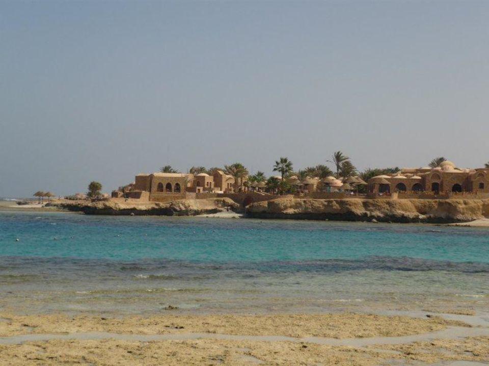 Blick von der Tauchbasis Mövenpick Resort El Quseir
