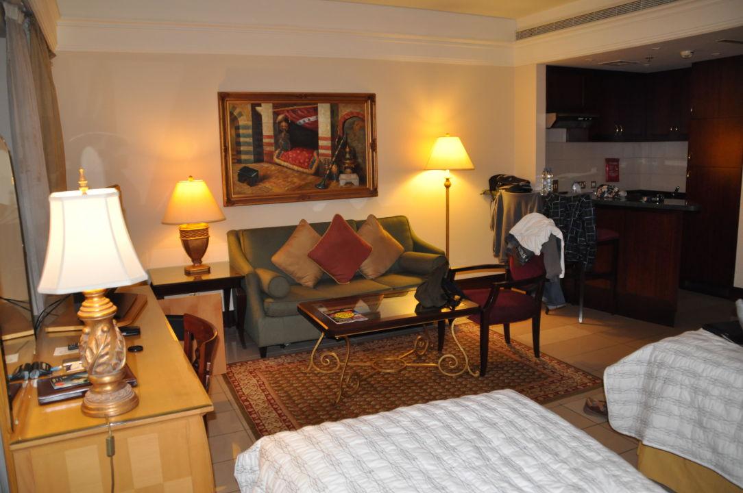 Wohnbereich Hotel Le Meridien Fairway