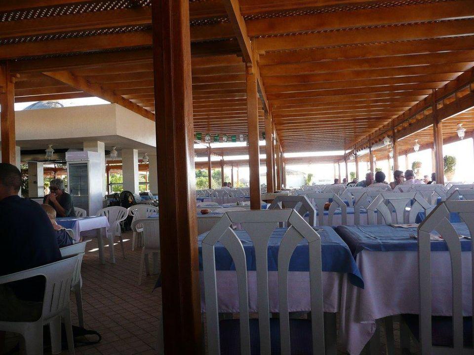 Offenes Reaturant mit Grillstation Hotel Eldorador Salammbo