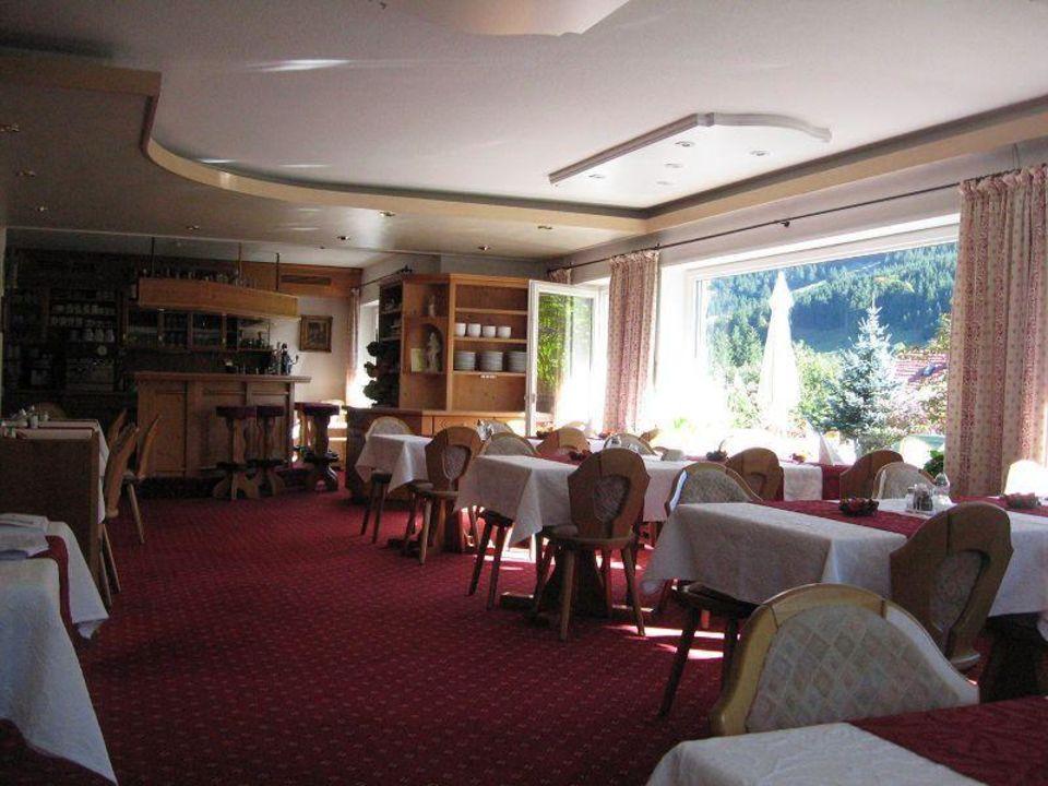 Speisesaal Hotel Garni Malerwinkl