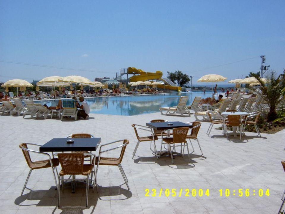 Diamond Beach - Blick auf Pool Diamond Beach Hotel & Spa