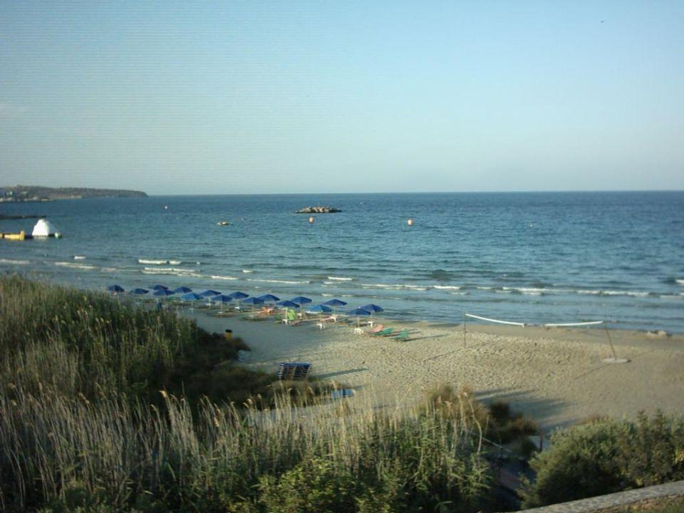 Noch einmal der Strand Hotel Almiros Beach