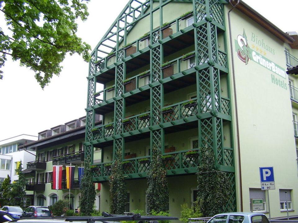 Aus Richtung Eisack Hotel Grüner Baum