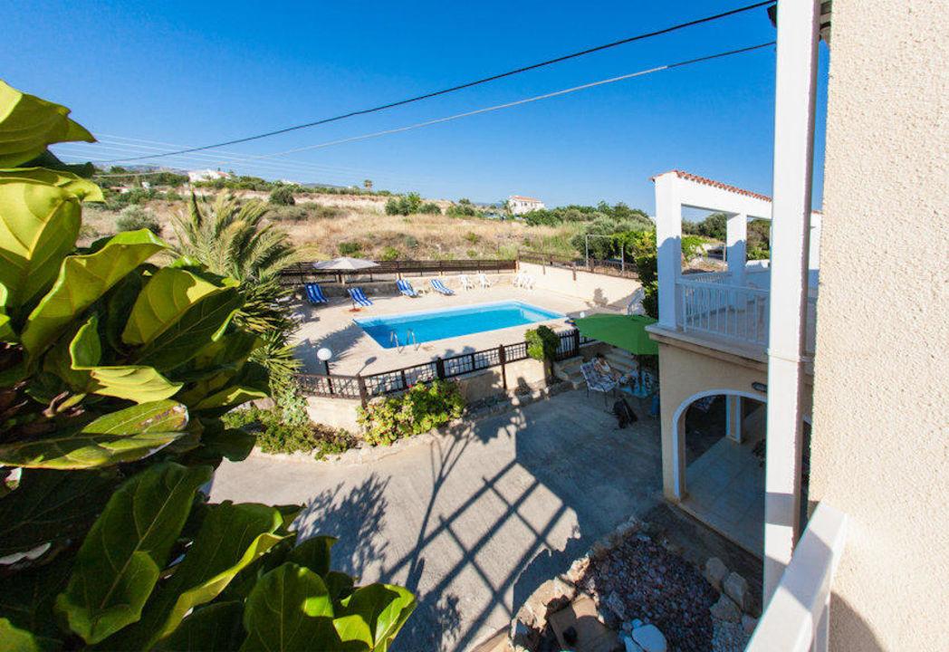 From upstairs look Villa Laona