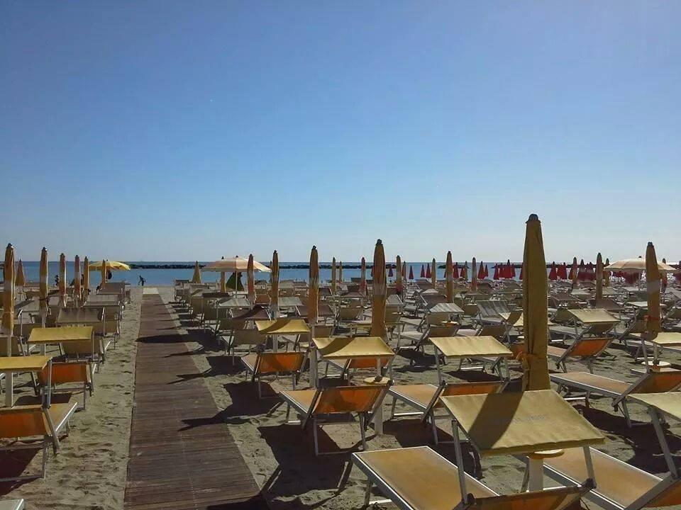 Spiaggia convenzionata  Hotel Mario
