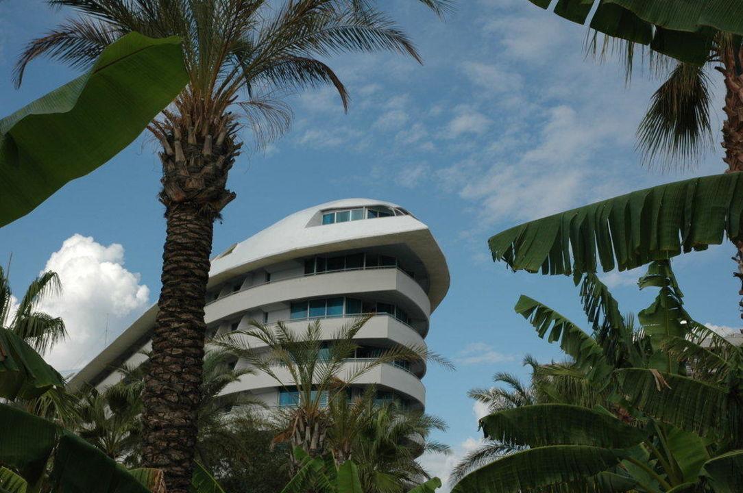 Frontansicht Hotel Concorde De Luxe Resort