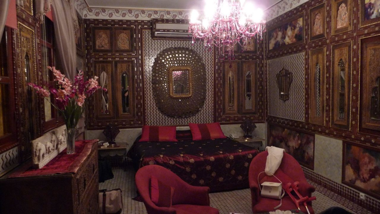 unser zimmer eine orientalische pracht hotel riad palais sebban marrakesch holidaycheck. Black Bedroom Furniture Sets. Home Design Ideas