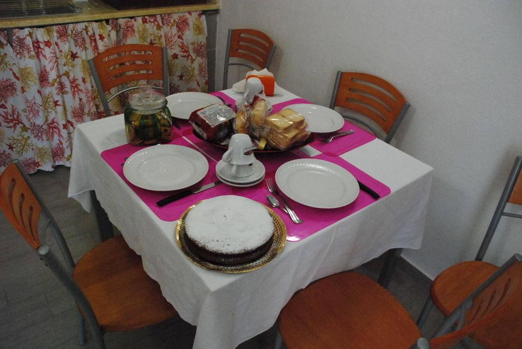 Gemeinsame Küche und Frühstücksraum im EG B&B Acabara