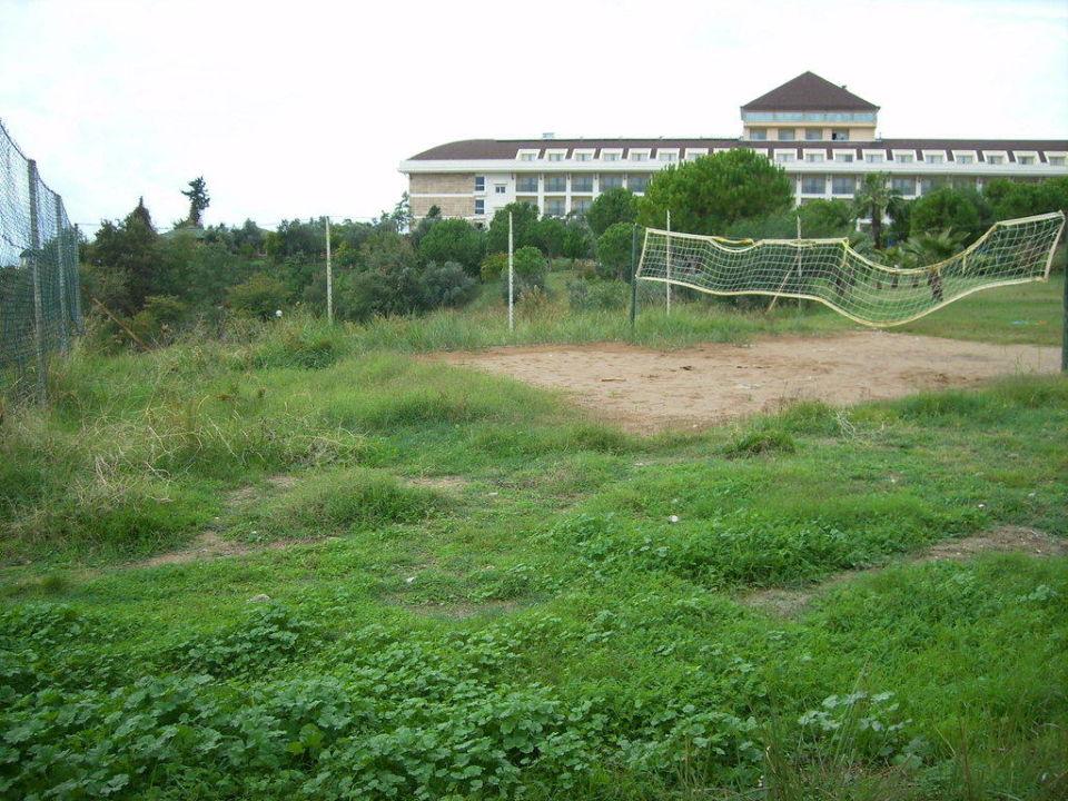 """Das """"Volleyballfeld"""" Hotel Side Prenses  (existiert nicht mehr)"""