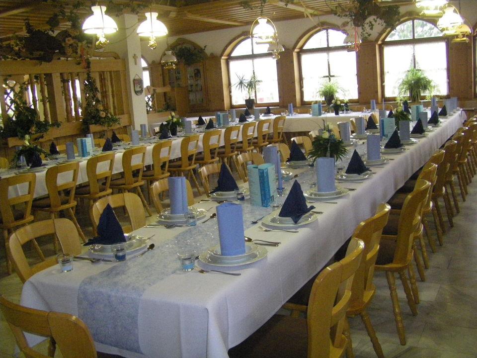 Festtafel Hotel Restaurant Goger