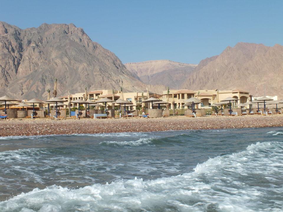 Widok na hotel z plaży Hotel Swiss Inn Dream Resort Taba