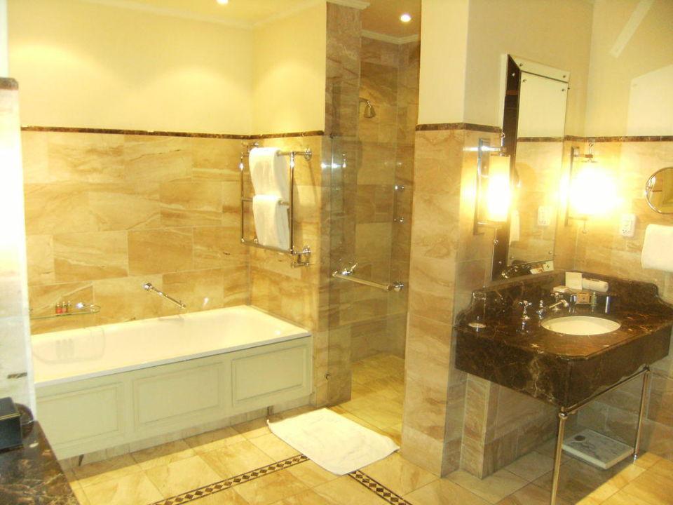 Bagno doppio lavabo Four Seasons Hotel The Westcliff Johannesburg