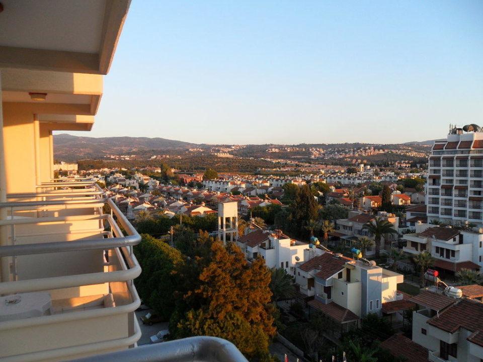 Blick aus dem 5. Stock Hotel Ephesia