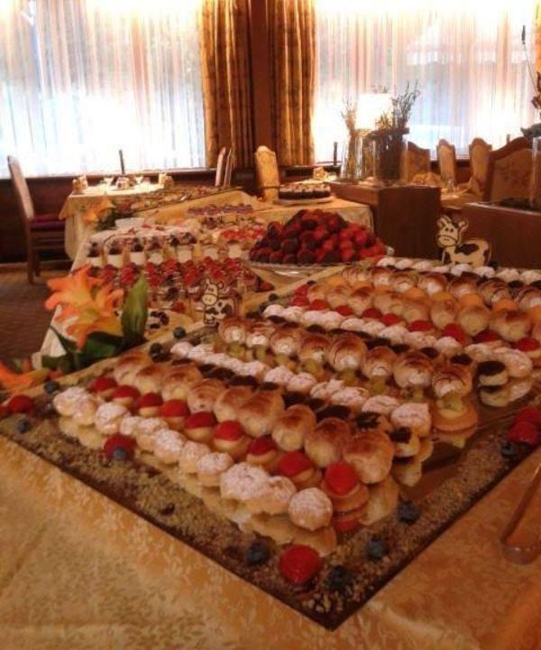 Buffet dei dolci Hotel Antares