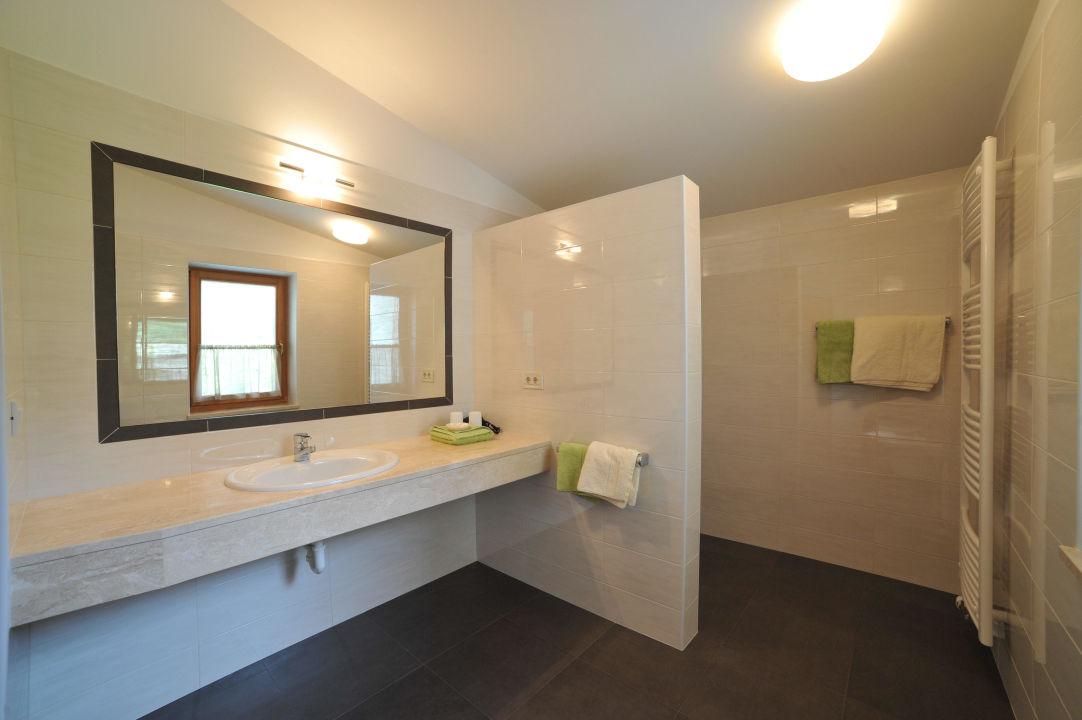 Badezimmer Residence Obermühle zu Schanzen