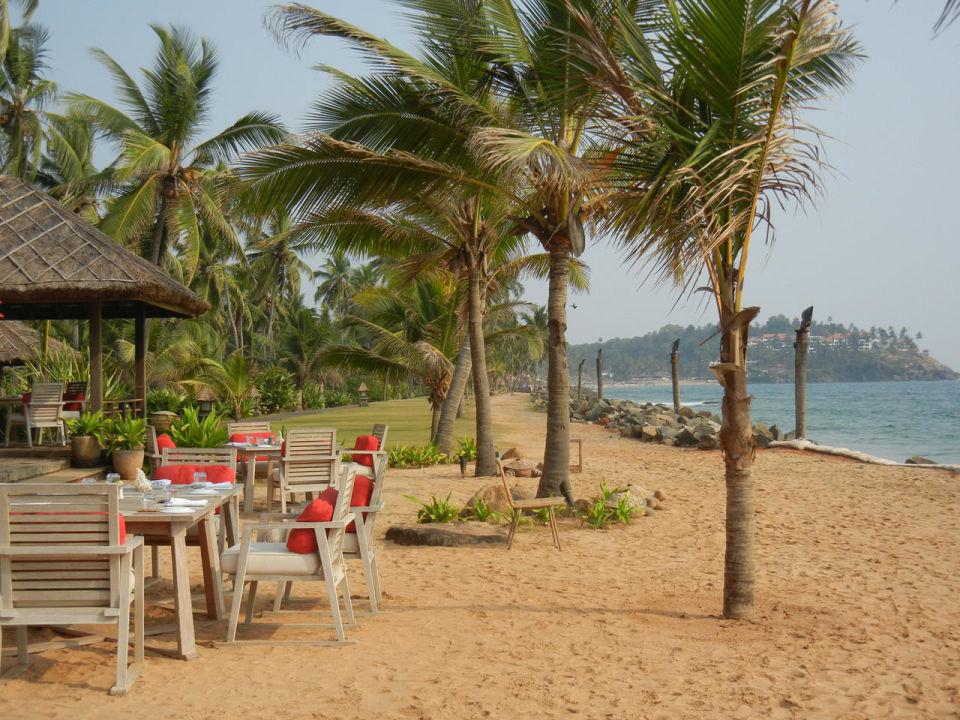 Beach Restaurant (nach Süden) Hotel Vivanta by Taj Kovalam