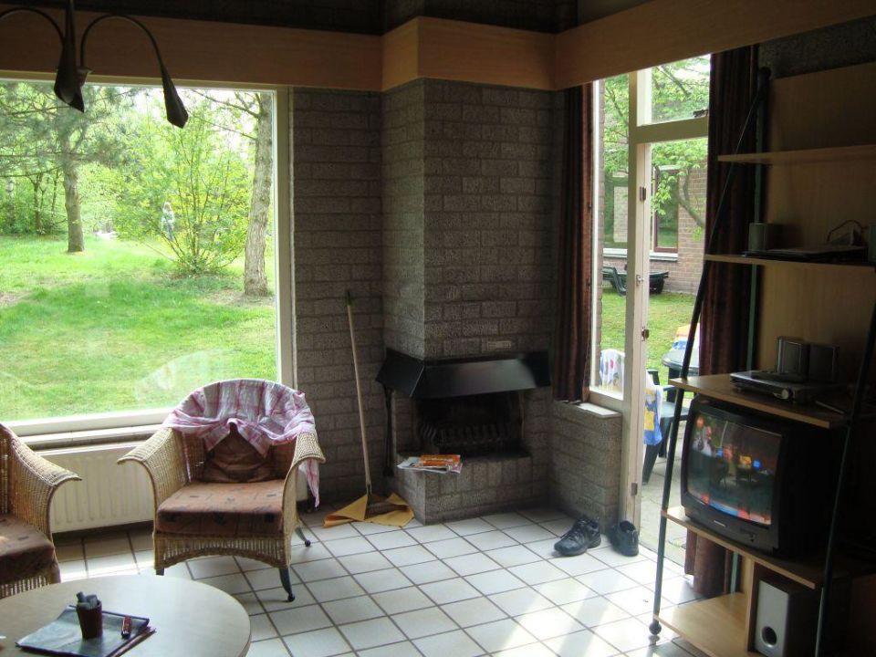 WohnzimmerKamin TV Roompot Vakanties Weerterbergen In Olympo Wohnzimmer Kamin Bewertung