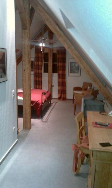 Zimmer Unter Dem Dach Hotel Restaurant Grenzhof Heidelberg