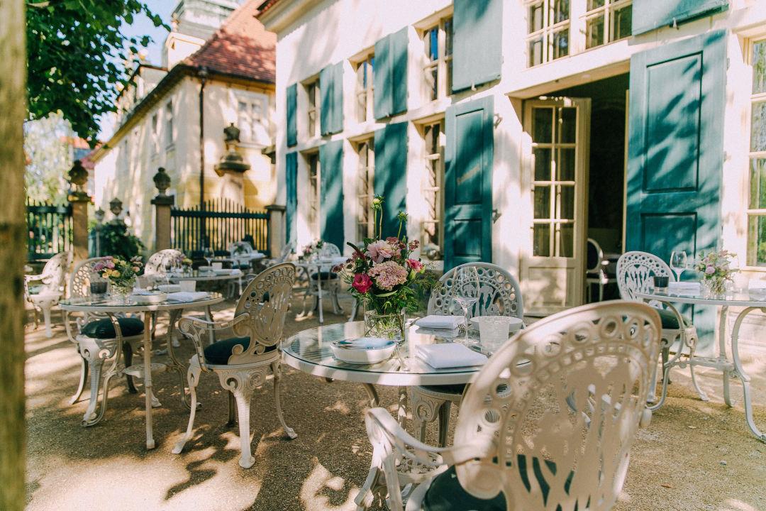 Terrasse Restaurant Hotel Villa Sorgenfrei Restaurant Atelier