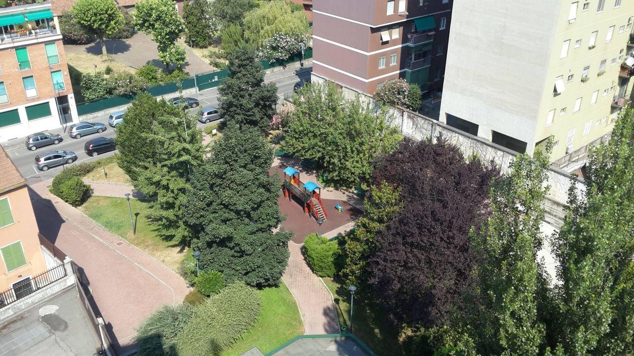 Вид с балкона UNAWAY Hotel & Residence Linea Uno  Milano